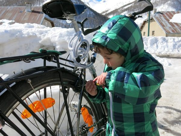 Repair bike for biking