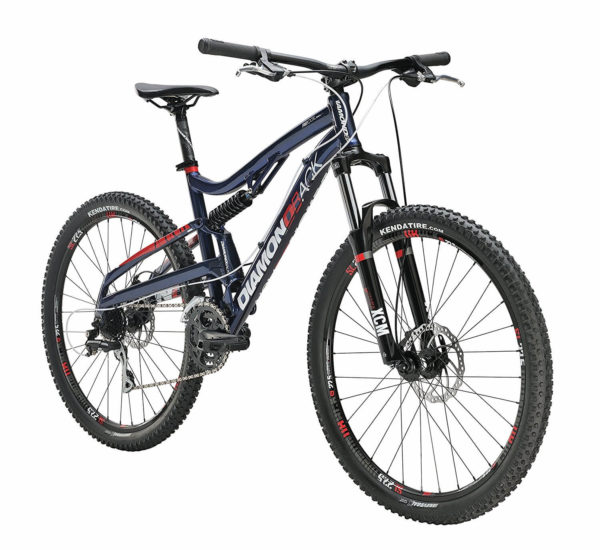 Diamondback Bicycles Recoil Trail Full Suspension Mountain Bike Review