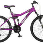 Mongoose Womens Status 2.2 Full Suspension Bicycle
