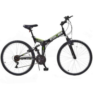 Stowabike 26 inch Folding Dual Suspension Mountain Bike