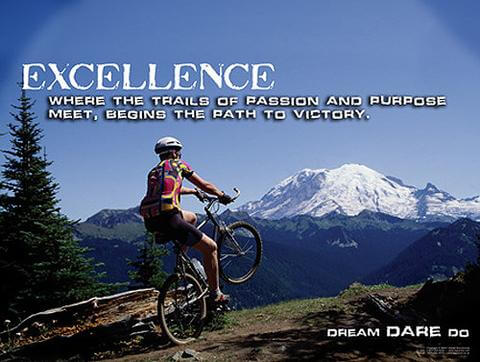 Excellence Where The Trails of Rassion And Purpose Meet, Begins The Path To Victory.