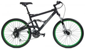 Gravity FSX 2.0 Dual Full Suspension Mountain Bike