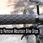 How to remove Mountain bike grips