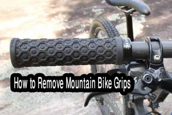 How to remove Mountain bike grips