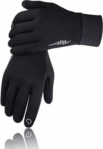 SIMARI Winter Gloves Men Women Touchscreen Running Gloves Cold Weather Warm Gloves